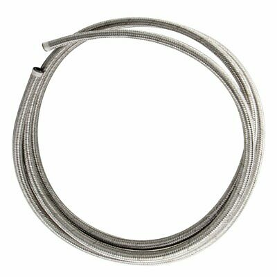 AU36.74 • Buy AN6 6AN Stainless Steel Braided Oil Fuel Line Fitting Hose End Adapter Kit 3M AU