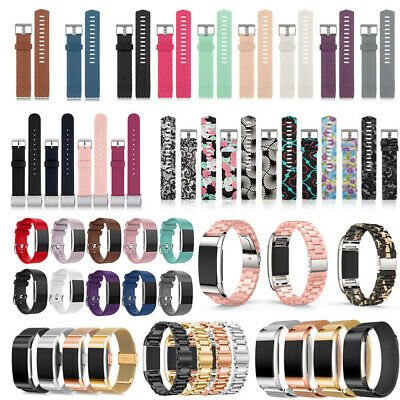 $ CDN4.50 • Buy Large Silicone Replacement Wrist Bracelet Watch Band Strap For Fitbit Charge 2