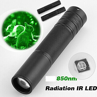 50W 850nm LED Infrared IR Flashlight Torch Zoom For Night Vision Scope Light UK • 11.09£