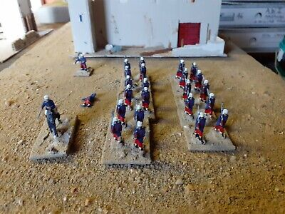 French Foreign Legion,1 Unit Of Infantry Plus 1 Mounted Officer • 12£