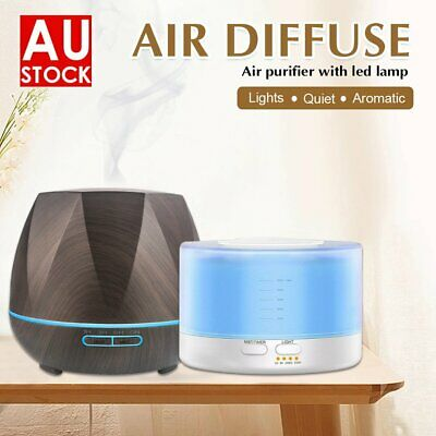 AU21.90 • Buy Ultrasonic Aroma Aromatherapy Diffuser Oil Electric Air Humidifier Essential LED