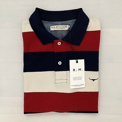 AU59 • Buy RM Williams Mens Polo Size XL Regular Fit