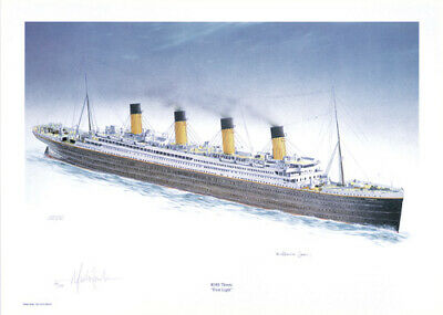 Millvina Dean Signed Limited Edition Titanic Print  • 24.95£