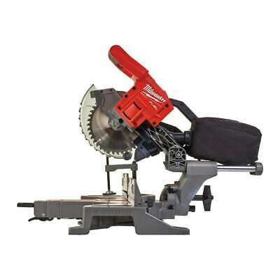 Milwaukee M18FMS190-0 18v Mitre Saw 190mm Cordless Fuel Mitre Saw Body Only • 449£