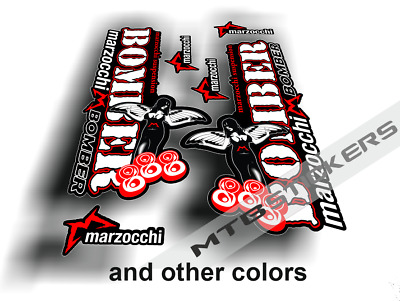 £10.27 • Buy Marzocchi Bomber 888 Fork Custom Decals Mountain Bike Cycling Mtb Stickers