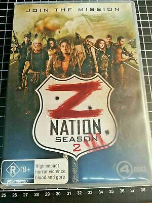 AU13.90 • Buy Z Nation : Season 2 DVD 4-Disc Set