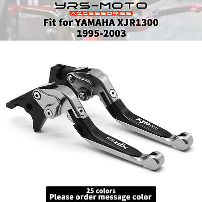 AU53.99 • Buy For YAMAHA XJR1300 1995-2003 Adjustable Folding Extending Brake Clutch Levers