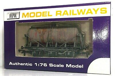 Dapol Weathered Independent Milk Supplies 6 Wheel Tank Wagon     001 • 14.99£