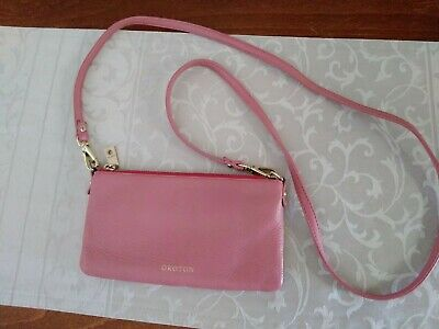 AU27 • Buy Oroton Bueno Leather Bag. Pink Soft Leather. Excellent Condition.