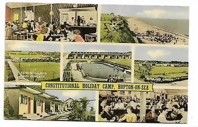 Norfolk - HOPTON-ON-SEA ,,CONSTITUTIONAL HOLIDAY CAMP. Used 1961 • 2.75£