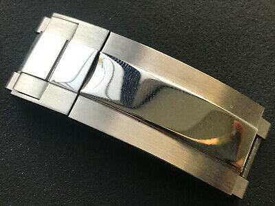 $ CDN37.86 • Buy Steel Polished Center Clasp For Rolex 20mm Submariner 116610 Watch Band Bracelet