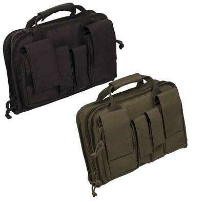 £21.49 • Buy Mil-Tec Small Pistol Case Padded With Pouches Airsoft Security Gun Bag