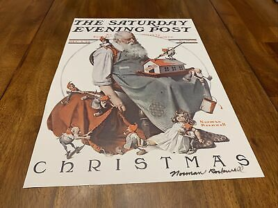 """$ CDN162.19 • Buy Signed Norman Rockwell/The Saturday Evening Post """"Christmas"""" Dec 2 1922"""