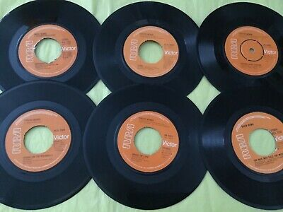 """David Bowie Collection 6 X 7"""" Vinyl  Collection 273 • 5£"""