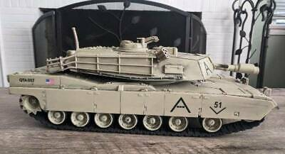 $48.99 • Buy 2007 Unimax QTA007 Forces Of Valor M1A1 Abrams US Army 1/18 Military Tank 17