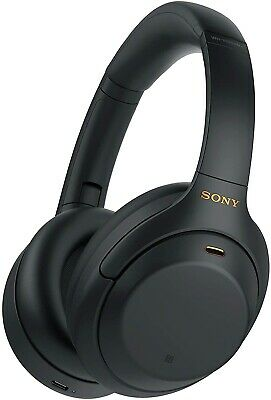 Sony WH-1000XM4 Wireless Noise Cancelling Over-Ear Headphones - Black A • 298.89£