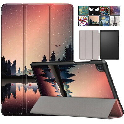 Painted Leather Case Cover For 10.4  Samsung Galaxy Tab A7 2020 T500 T505 Tablet • 10.08£