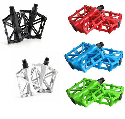AU19.89 • Buy Alloy Mountain Bike Pedal Road MTB Bicycle Nonslip Set Cycling Pedals 9/16