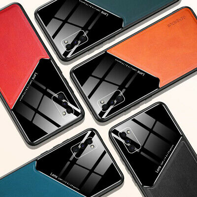 AU9.88 • Buy Hybrid Leather Bumper Magnetic Case Cover For Samsung Galaxy S20 Ultra S10+ Plus