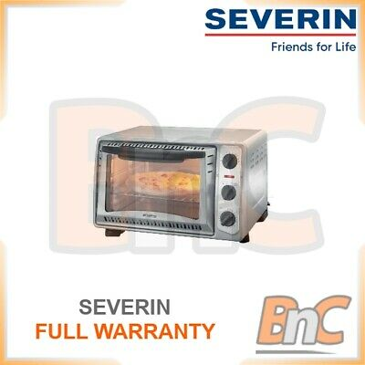 £80.83 • Buy SEVERIN Mini Oven Electric 1500 W 20 L Compact Table Top Grill Baking Cooking