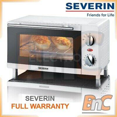 £55.16 • Buy SEVERIN Oven Electric 800 W 9 L Compact Table Top Grill Baking Cooking Roast
