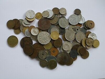 100 + Coins Of The World - Foreign Coins • 0.99£