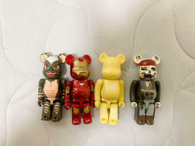 $124.49 • Buy Bearbrick Movie Character Set Iron Man Pirates Gremlin K