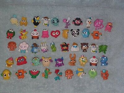 Moshi Monsters - Collection Of 47 Figures Toys Bundle & Silver Monster Tin VGC • 0.99£