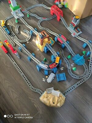 Universe Of Imagination Power Rails Train Set Toys R Us RC Trains Bundle • 5£