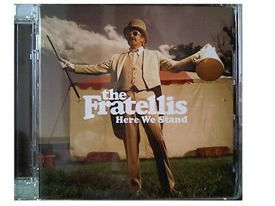 THE FRATELLIS - Here We Stand CD NEW 2008 Island • 4.99£