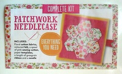 Patchwork Needlecase Complete Kit By Jenny Fox-Proverbs • 5£
