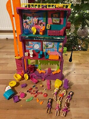 Huge Polly Pocket Bundle Spin N Surprise Hotel, Dolls, Accessories • 13£
