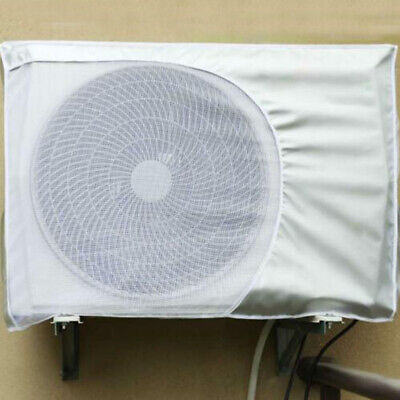 AU19.98 • Buy Outdoor Air Conditioner Cover Dust-proof Anti-Snow Waterproof Sunproof White