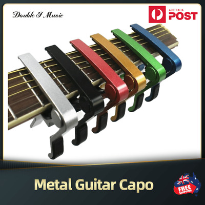 AU5.45 • Buy Guitar Capo Acoustic Guitar Transposition Clip Ukulele Transpose Clips 6 Colors