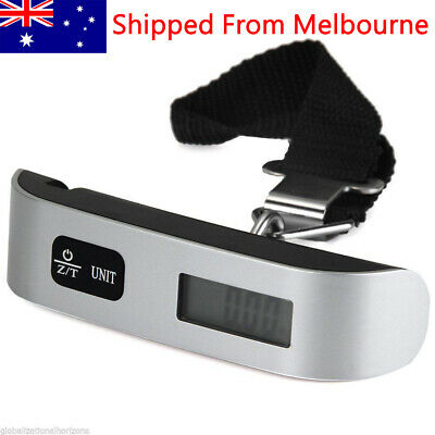 AU11.98 • Buy Luggage Scale 50 KG Travel Electronic Portable Digital Measures Weight Weighing