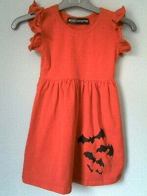 Metallimonsters  Bats Dress Red Alternative Baby Goth Punk Rock Metal  • 3£
