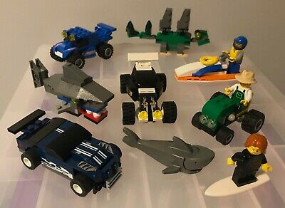 7x Mini Lego 7798 Steg, 60011 Surfer, 4899 Tractor, 7805 Shark, 8194 & 8126 Cars • 0.99£
