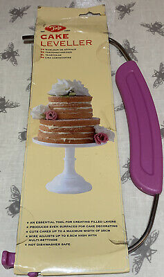 £7.99 • Buy Tala Cake Leveller Baking Tool Adjustable Wire Up To 25cm