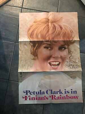 PETULA CLARK Is In Finians Rainbow Poster AUTOGRAPHED  • 22.09£