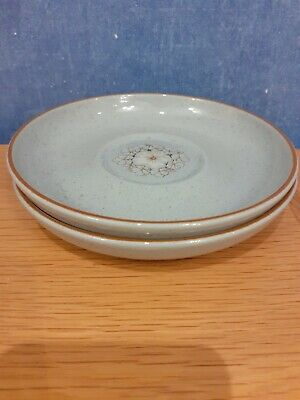 Denby Reflections  Saucers X 2 • 2£