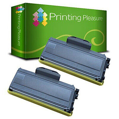 2 Toner Cartridge Fits Brother TN2120 HL2140 MFC7440N 7840W DCP7030 • 17.99£