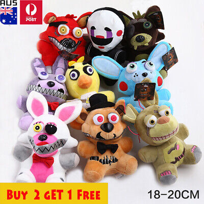 AU15.99 • Buy Five Nights At Freddy''s FNAF Plush Toy Soft Doll Horror Game Stuffed Kids Gifts