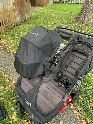 Baby Jogger Citi Mini GT Double Buggy Stroller Twins Baby Toddler Preschool • 63£
