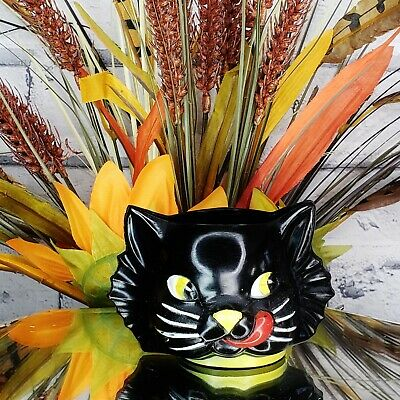 $ CDN142.72 • Buy Vintage 50s  LUCKY  Black Cat Plastic Cup  Halloween Gothic Wicca Magic LC2