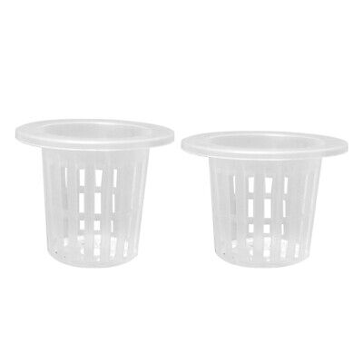 $ CDN11.87 • Buy UN3F 10pcs Hydroponic Colonization Mesh Pot Net Cup Basket Planting Nursery Cups
