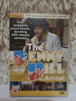 The Benny Hill Show - The 1972 Annual [DVD] - DVD  A4VG The Cheap Fast Free Post • 4.68£