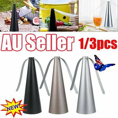 AU20.46 • Buy 1/3Pcs Automatic Fly Trap Repellent Fan Keep Flies Bugs Away From Your Food QC