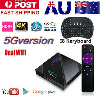 AU53.89 • Buy H96 Max Pro TV BOX Android 10.0  USB3.0 WiFi 6K Smart Media Player 5G WIFI