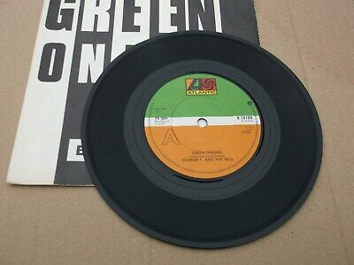 UK 45  Booker T & The M G S   Green Onions   Atlantic Records K 10109  EX / EX • 1.50£