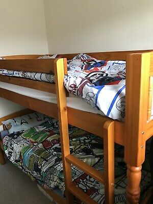 Wooden Bunk Beds • 26£